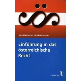 Einführung in das österreichische Recht - Collectif