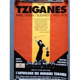 "Poster ""Tziganes Paris/Berlin/Budapest 1910-1935"""