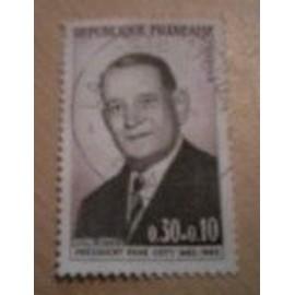 timbre n° 1412 en très bon état oblitérée.