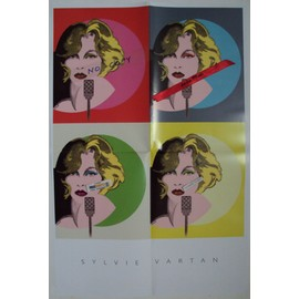 affichette poster sylvie vartan.(45X60cm) pleyel 2011.