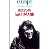 Europe N� 892-893, Ao�t-Sep - Ingeborg Bachmann de Fran�oise R�tif