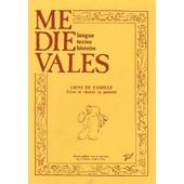 M�di�vales N� 19, Automne 1990 - Liens De Famille - Vivre Et Choisir Sa Parent� de Christiane Klapisch-Zuber