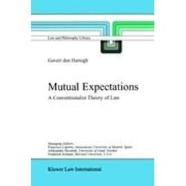 Mutual Expectations - Govert Hartogh
