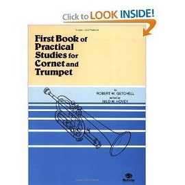 First Book of Practical Studies: Cornet and Trumpet [Sheet Music]