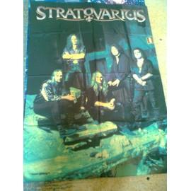 Stratovarius - Drapeau tissu Destiny Band 1998 (120x80)