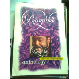 Barry White - Anthology (PLV taille A4)