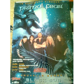 Primal Fear - Black Sun tournée française 2002 - Taille A3