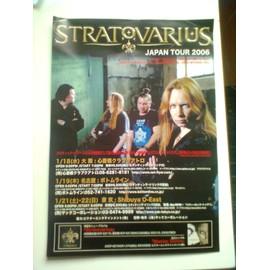 Stratovarius - Japan Tour 2006 - Plan média taille A4