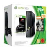 Xbox 360 Slim 250 Go + Forza 3 + Crysis 2