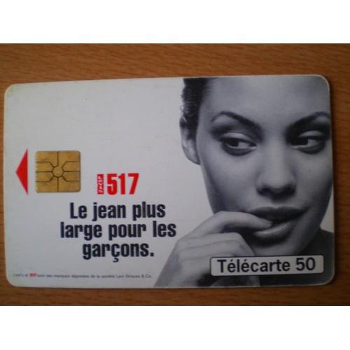 Télécarte 50 unités <strong>levis</strong> 517 le jean plus large pour les garçons 1096