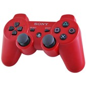 Sony Dualshock 3 Sixaxis Rouge - Manette Sans Fil Officielle Pour Playstation 3