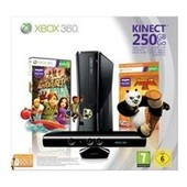 Console Xbox 360 250 Go + Kinect + Kinect Adventures! + Kung Fu Panda 2 + Carte Abonnement 3 Mois Gold