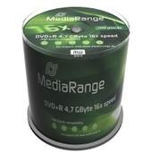 DVD+R 16x certifi�, 100 pi�ces en cake box MediaRange MR443