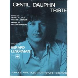 "gerard Lenorman ""Gentil dauphin triste"