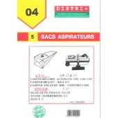 5 Sacs Aspirateur Singer Sx -Sz-Tx -Ty Stand Supertronic 2.3 -Tm/Lux -Ta/Tz Elec T15