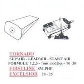 10 Sacs Aspirateur Tornado Sup'air - Lead'air