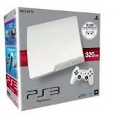 Sony Ps3 Slim Blanche 320 Go
