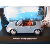 Audi Tt Roadster 1999 Edison Eg Serie Oro 1/43 Bleu Gris Cabriolet Cc Wagen Car