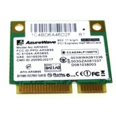 Carte Wifi AzureWave AR5B95 moiti� Mini PCI-E Carte 802.11B/G/N pour ASUS Eee PC 1005HA-H
