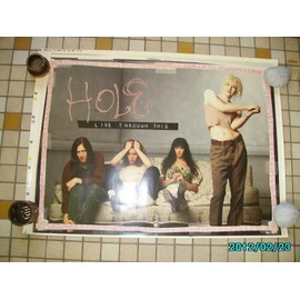 Courtney Love HOLE live through this1994 Poster 80X59