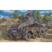 Maquette V�hicule Blind� Sur Roues Allemand Sd.Kfz.231