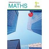 Maths 1e Bac Pro - Groupements A Et B Industriel de Paul Couture
