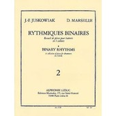 Rythmiques Binaires Batterie Volume 2