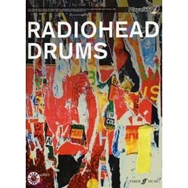 RADIOHEAD AUTHENTIC DRUMS PLAYALONG + CD