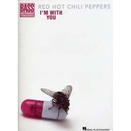 RED HOT CHILI PEPPERS I'M WITH YOU BASS TAB