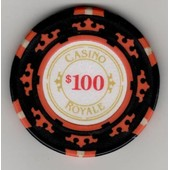 Jetons De Poker De 100 $ - Casino Royale
