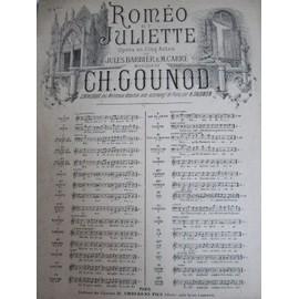 partition : romeo & juliette (gounod)