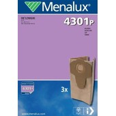 3 Sacs Industriels Menalux Pour   Aqua Vac - Nts 20 Professional