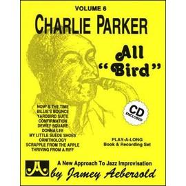 Aebersold Vol. 6 + CD : Charlie Parker - All Bird