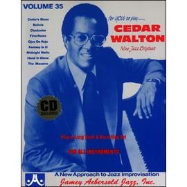 Aebersold Vol. 35 + CD : Cedar Walton