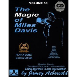 Aebersold Vol. 50 + CD : The Magic of Miles Davis