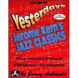 Aebersold Vol. 55 + CD : Jerome Kern's Jazz Classics