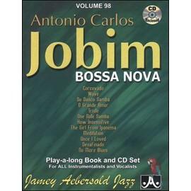 Aebersold Vol. 98 + CD : Antonio Carlos Jobim