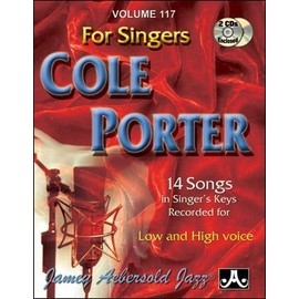Aebersold Vol. 117 + CD : Cole Porter for Singers