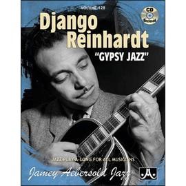 Aebersold Vol. 128 + CD : Django Reinhardt - Gypsy Jazz