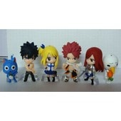 6 Figurines Fairy Tail