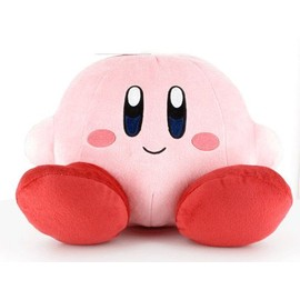 Kirby - Peluche Kirby Assis (22 Cm)