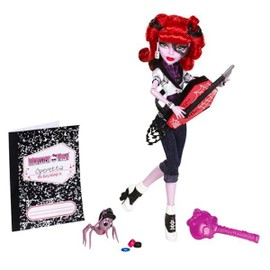 Poup�e Monster High Operetta Avec Son Journal Intime, Une Brosse Et Son Fid�le Animal