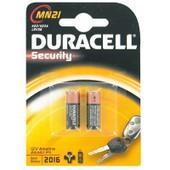Pile 12v A23/Mn21 Duracell - Blister De 2