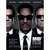 Men In Black 3 - Mib 3 - V�ritable Affiche De Cin�ma Pli�e - Format 120x160 Cm - De Barry Sonnenfeld Avec Will Smith, Tommy Lee Jones, Josh Brolin, Emma Thompson, Alice Eve - 2012