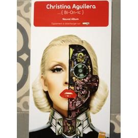 PLV Christina Aguilera BI-ON-Ic Nouvel album