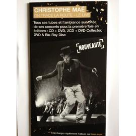 """PLV Christophe Maé """"On trace la route - Le live"""""""