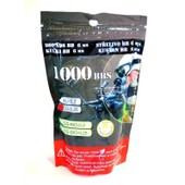 Sachet De 1000 Billes Blanches 0.25g P&j Guns 899476 Airsoft
