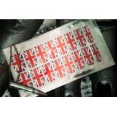 16 Stickers Ongles Patch/Nail Foil/Manucure/Drapeau Anglais