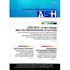 Actualit�s Sociales Hebdomadaires - Ash 2750