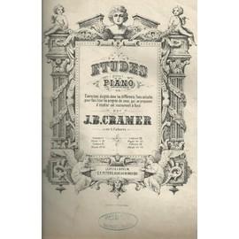 84 Etudes pour piano de J.B. Cramer ( 4 Cahiers reliées)